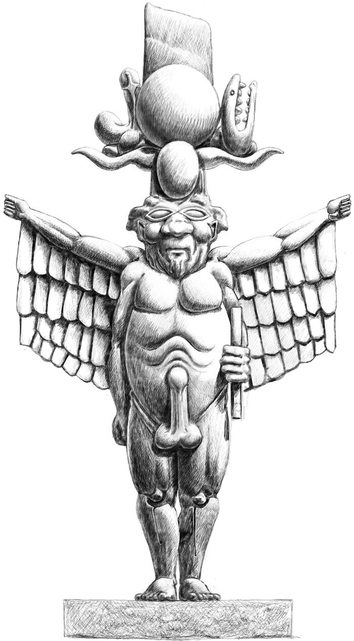 Bes - the Egyptian Dwarf God