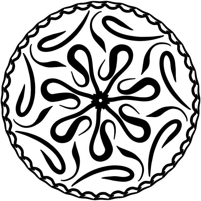 Circular Ornament 11