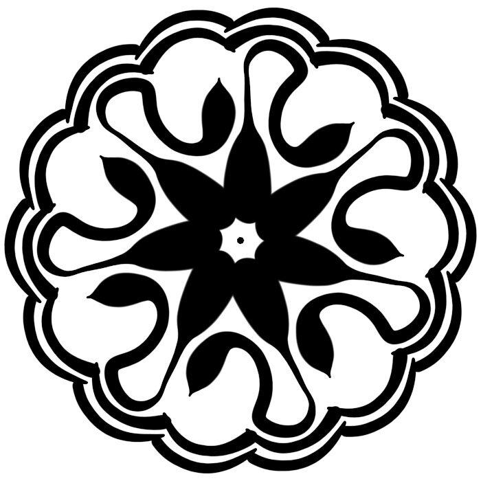 Circular Ornament 12