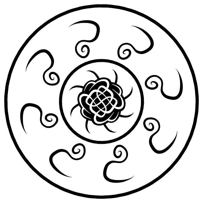 Circular Ornament 17
