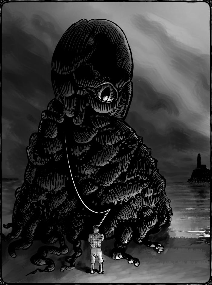 Lovecraftian fishing trip